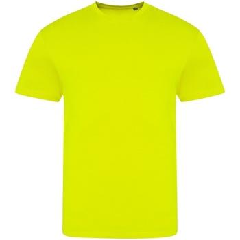 Textil T-Shirt mangas curtas Awdis JT004 Amarelo elétrico