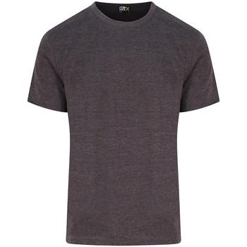 Textil Homem T-Shirt mangas curtas Pro Rtx RX151 Carvão vegetal