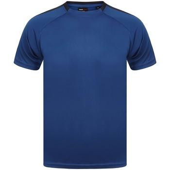 Textil T-Shirt mangas curtas Finden & Hales LV290 Royal Blue/Navy