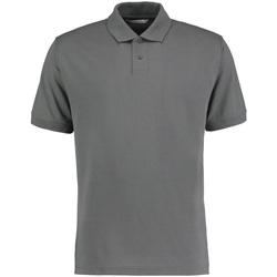 Textil Homem Polos mangas curta Kustom Kit KK422 Marl cinzento escuro