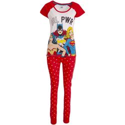 Textil Mulher Pijamas / Camisas de dormir Justice League  Branco/vermelho