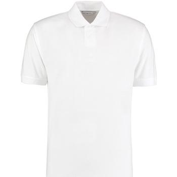 Textil Homem Polos mangas curta Kustom Kit KK422 Branco