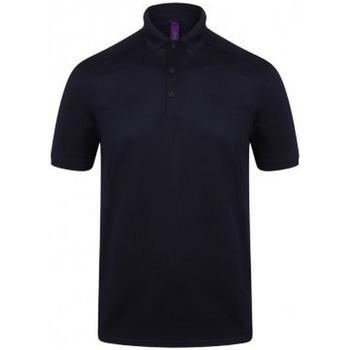 Textil Homem Polos mangas curta Henbury HB460 Marinha de Oxford