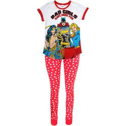 Textil Mulher Pijamas / Camisas de dormir Dc Comics  Branco