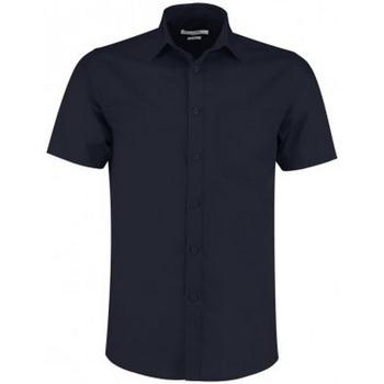 Textil Homem Camisas mangas curtas Kustom Kit KK141 Marinha Negra