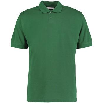 Textil Homem Polos mangas curta Kustom Kit KK422 Garrafa Verde