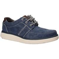Sapatos Homem Sapatos Clarks 132598 Azul