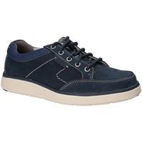Sapatos Homem Sapatos Clarks 132611 Azul