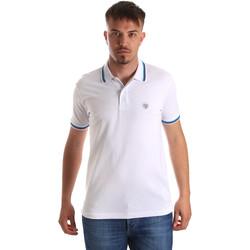Textil Homem Polos mangas curta Gaudi 911BU64033 Branco