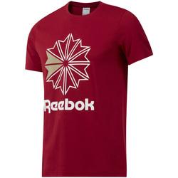 Textil Homem T-Shirt mangas curtas Reebok Sport DH2096 Vermelho