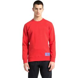 Textil Homem Sweats Calvin Klein Jeans J30J307743 Vermelho