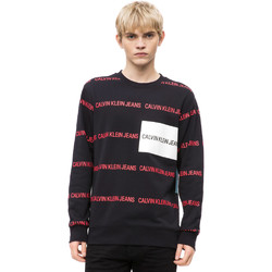 Textil Homem camisolas Calvin Klein Jeans J30J309796 Preto