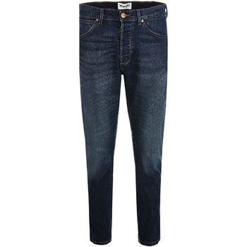 Textil Homem Calças de ganga slim Wrangler W18RRS Azul