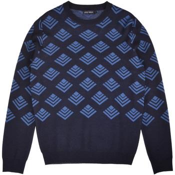 Textil Homem camisolas Antony Morato MMSW00859 YA400006 Azul
