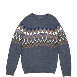 Textil Homem camisolas Antony Morato MMSW00885 YA400006 Cinzento