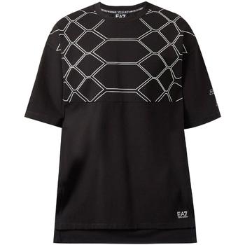 Textil Homem T-Shirt mangas curtas Ea7 Emporio Armani 6ZPT43 PJQ0Z Preto