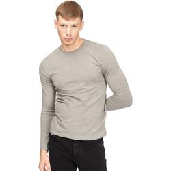 Textil Homem T-shirt mangas compridas Gas 300187 Cinzento