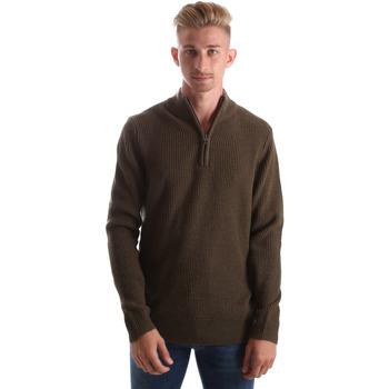 Textil Homem camisolas Gas 561974 Verde