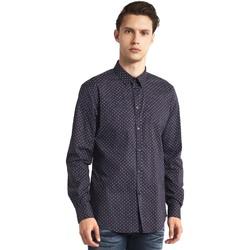 Textil Homem Camisas mangas comprida Gaudi 821BU45005 Cinzento