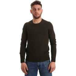Textil Homem camisolas Gaudi 821BU53003 Verde