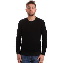 Textil Homem camisolas Gaudi 821BU53036 Preto
