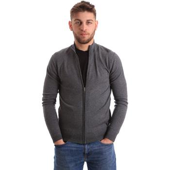 Textil Homem Casacos de malha Gaudi 821BU53037 Cinzento