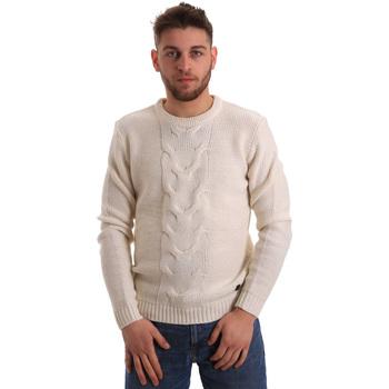 Textil Homem camisolas Gaudi 821BU53042 Branco