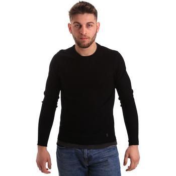 Textil Homem camisolas Gaudi 821BU53043 Preto