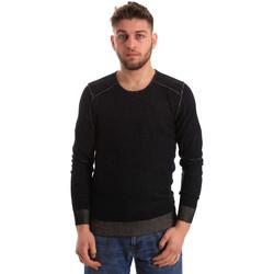 Textil Homem camisolas Gaudi 821FU53008 Preto