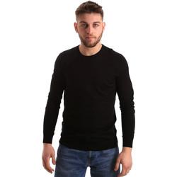 Textil Homem camisolas Gaudi 821FU53080 Preto