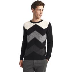 Textil Homem camisolas Gaudi 821FU53085 Preto