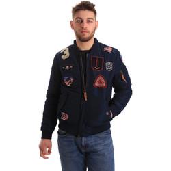 Textil Homem Jaquetas U.S Polo Assn. 50353 52252 Azul