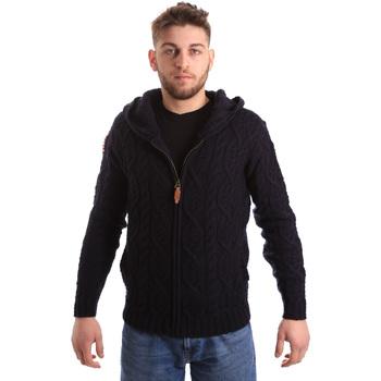 Textil Homem Casacos de malha U.S Polo Assn. 50548 52257 Azul