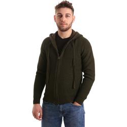Textil Homem Casacos de malha U.S Polo Assn. 50519 52229 Verde