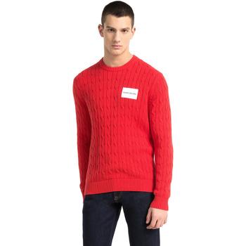 Textil Homem camisolas Calvin Klein Jeans J30J307800 Vermelho