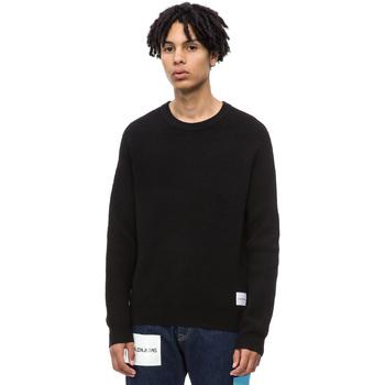 Textil Homem camisolas Calvin Klein Jeans J30J309547 Preto
