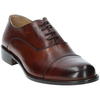 Sapatos Homem Richelieu Exton 6014 Castanho