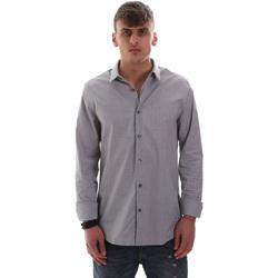 Textil Homem Camisas mangas comprida Calvin Klein Jeans J30J313171 Azul