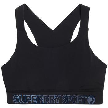 Textil Mulher Tops e soutiens de desporto Superdry GS3009AR Preto