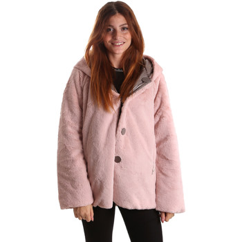Textil Mulher Parkas Byblos Blu 689104 Rosa