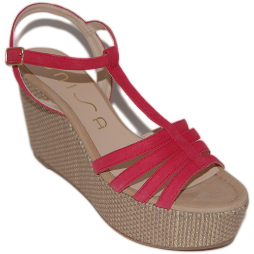 Sapatos Mulher Sandálias Unisa Sandálias Lusono Rosa