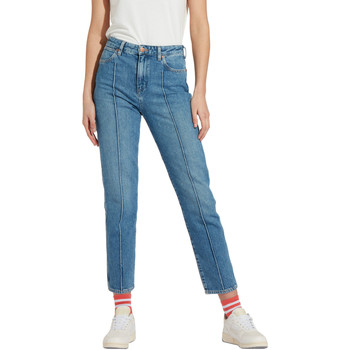 Textil Mulher Calças de ganga slim Wrangler W239RI Azul