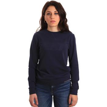 Textil Mulher Sweats Emporio Armani EA7 6ZTM84 TJ31Z Azul