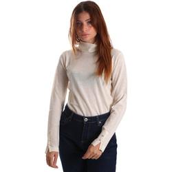 Textil Mulher camisolas Gas 566589 Branco
