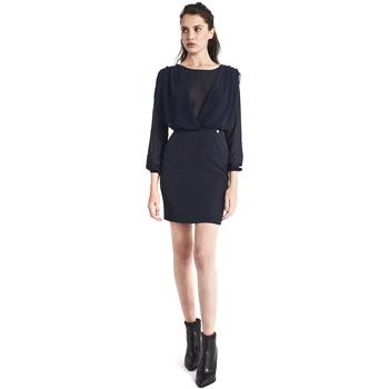 Textil Mulher Vestidos curtos Gaudi 821BD15021 Azul