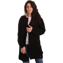 Textil Mulher Casacos de malha Gaudi 821BD53024 Preto