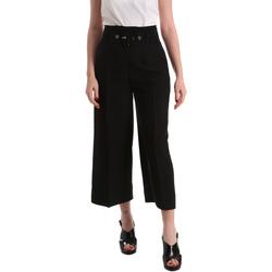 Textil Mulher Calças finas / Sarouels Gaudi 821FD25001 Preto