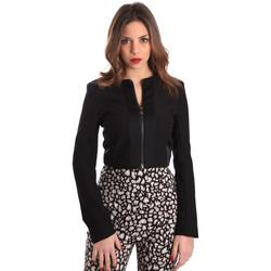 Textil Mulher Casacos/Blazers Gaudi 821FD35003 Preto