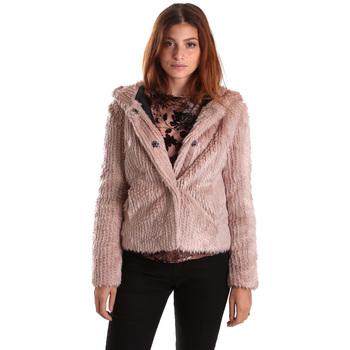 Textil Mulher Jaquetas Gaudi 821FD39003 Rosa