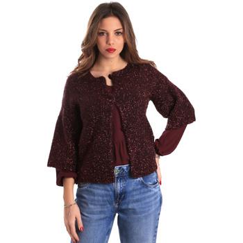 Textil Mulher Casacos de malha Gaudi 821FD53044 Vermelho